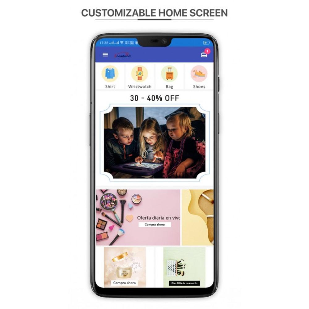 module - Dispositivos móviles - Knowband - PWA Mobile App - 2