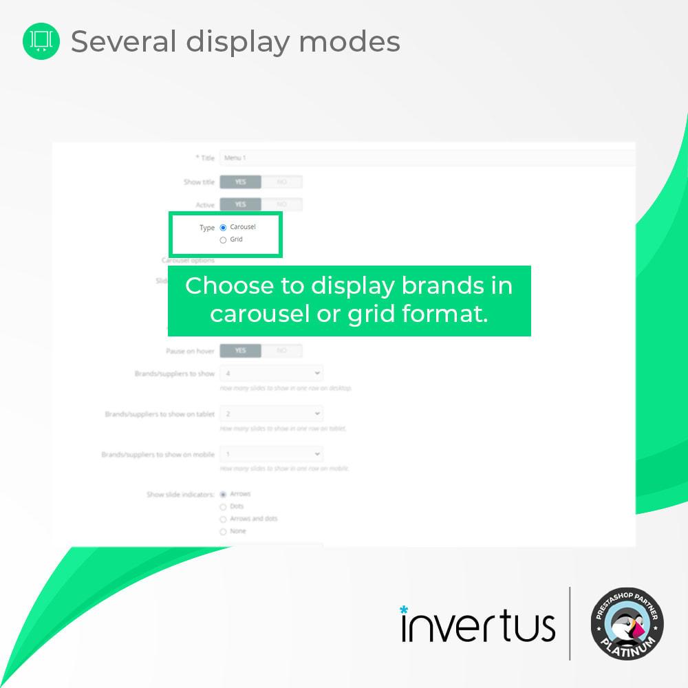 module - Merken & Fabrikanten - Brand Slider - Partners, Manufacturers, Gallery, Logo - 4