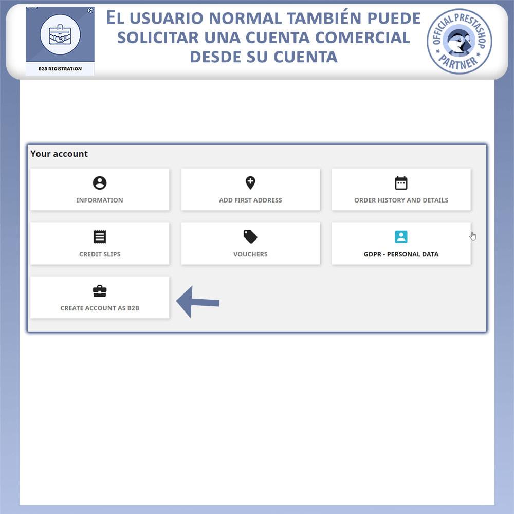 module - Inscripción y Proceso del pedido - Registro B2B - 7