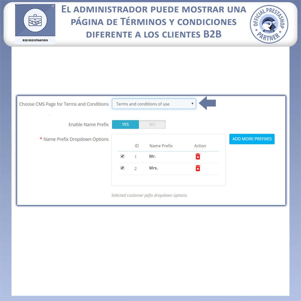 module - Inscripción y Proceso del pedido - Registro B2B - 10