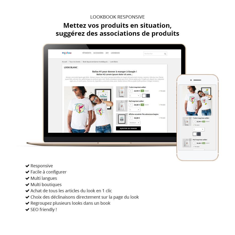 module - Visuels des produits - Lookbook - Mise en scène de produits - 1