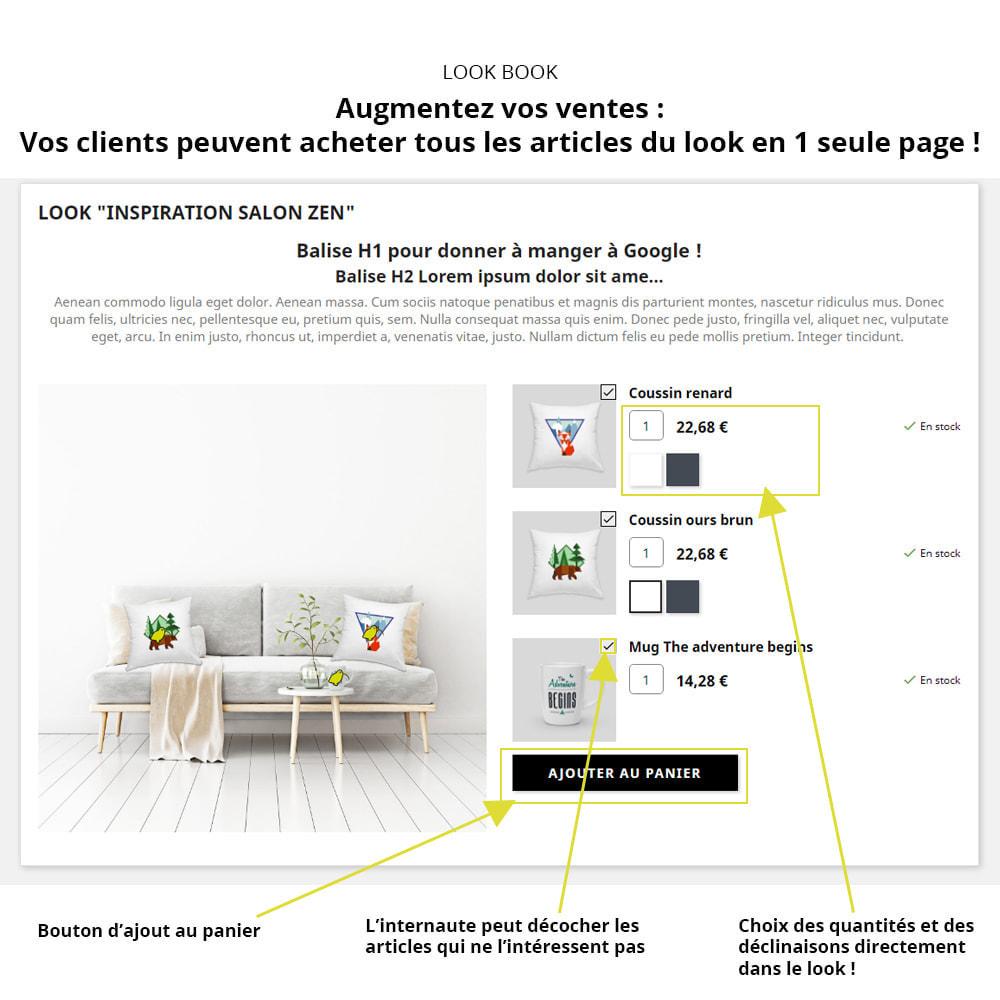 module - Visuels des produits - Lookbook - Mise en scène de produits - 2