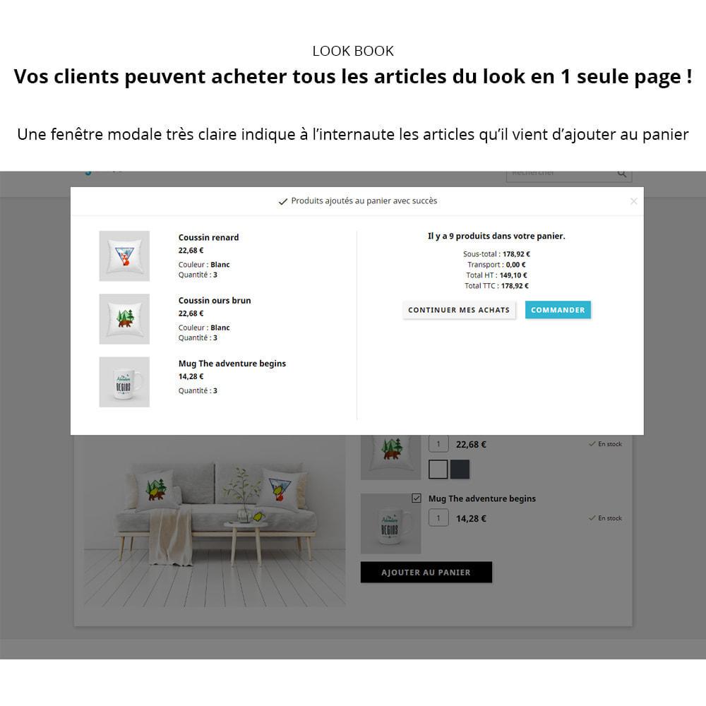 module - Visuels des produits - Lookbook - Mise en scène de produits - 3
