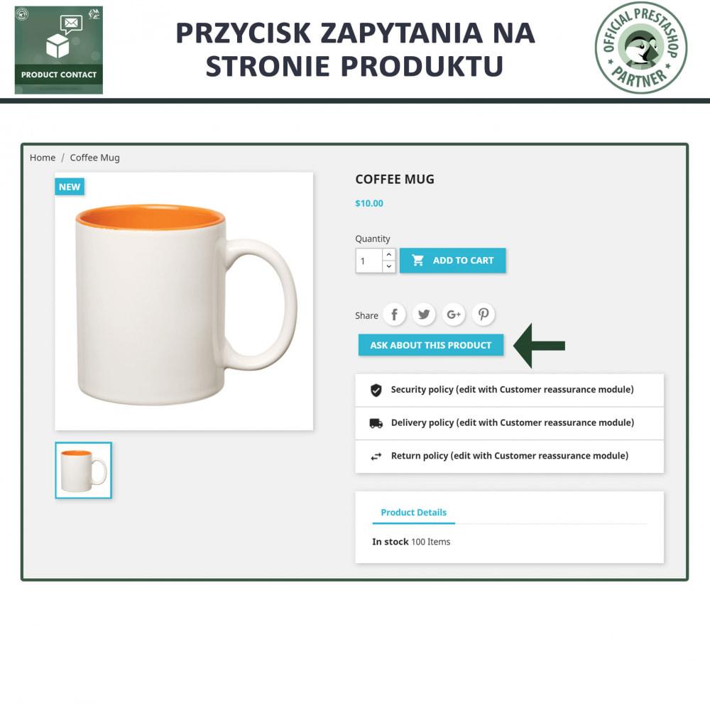 module - Formularz kontaktowy & Ankiety - Kontakt z Produktem - Formularz Zapytania - 2