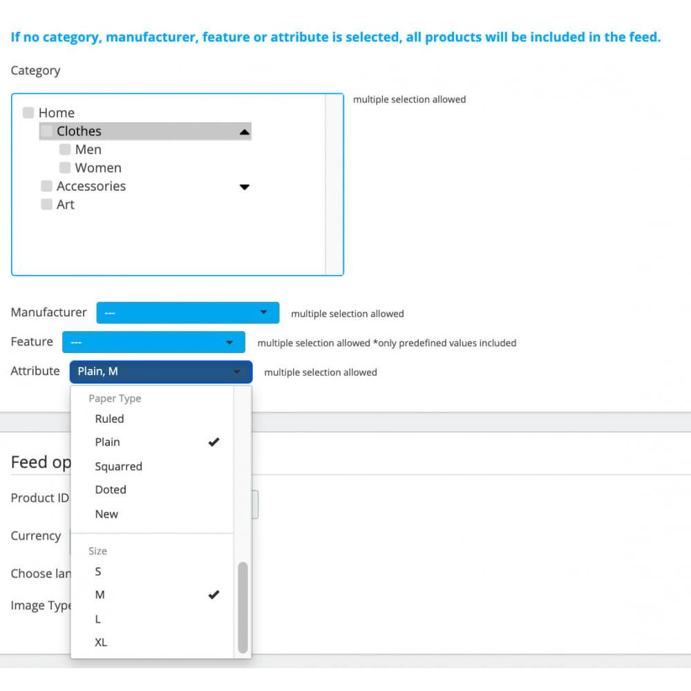 module - Wyszukiwanie & Filtry - Google Merchant Shopping Feed, fast setup & filters - 5