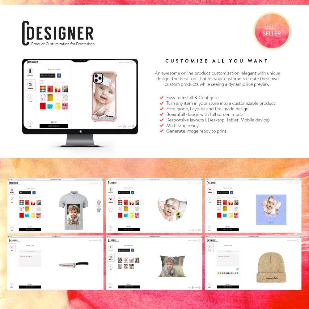 module - Combinazioni & Personalizzazione Prodotti - Product Customization Designer - Custom Product Design - 1