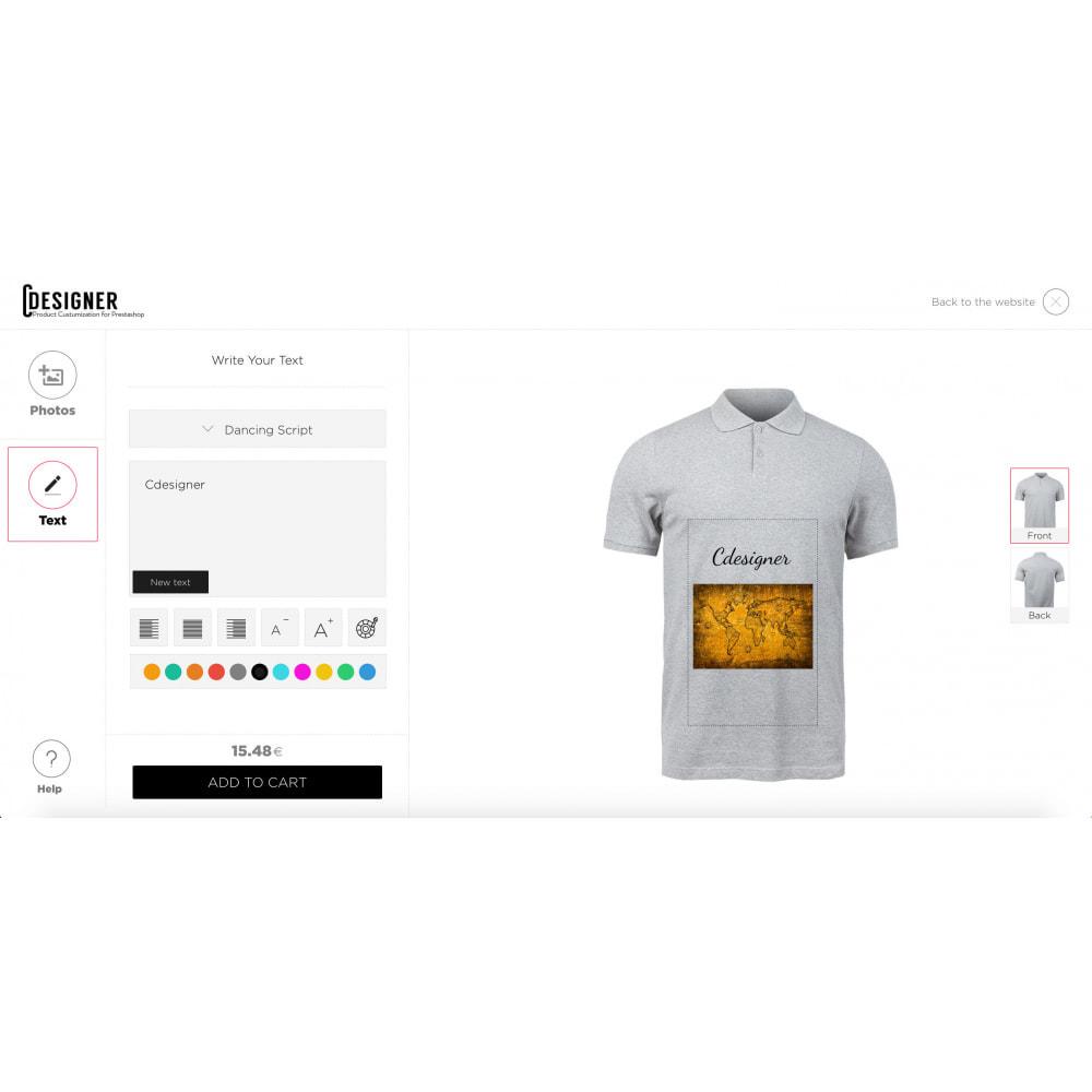 module - Combinazioni & Personalizzazione Prodotti - Product Customization Designer - Custom Product Design - 3
