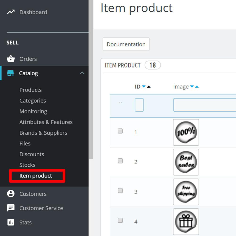 module - Emblemas e logotipos - Custom widget icons - 5