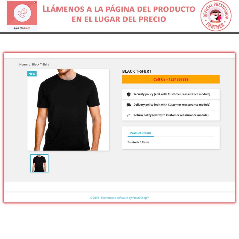 module - Gestión de Precios - Call For Price - Hide Price & Add To Cart - 3