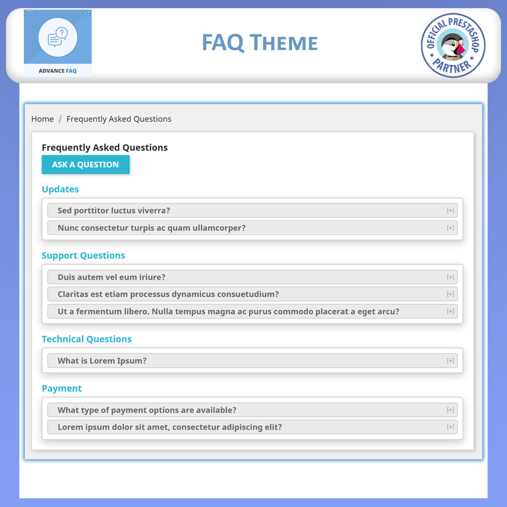 module - FAQ (Perguntas frequentes) - Frequently Asked Questions - FAQ Advance - 5