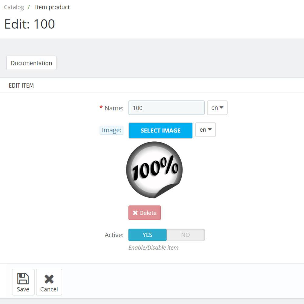 module - Odznaki & Logo - Niestandardowych ikon widgetów - 7