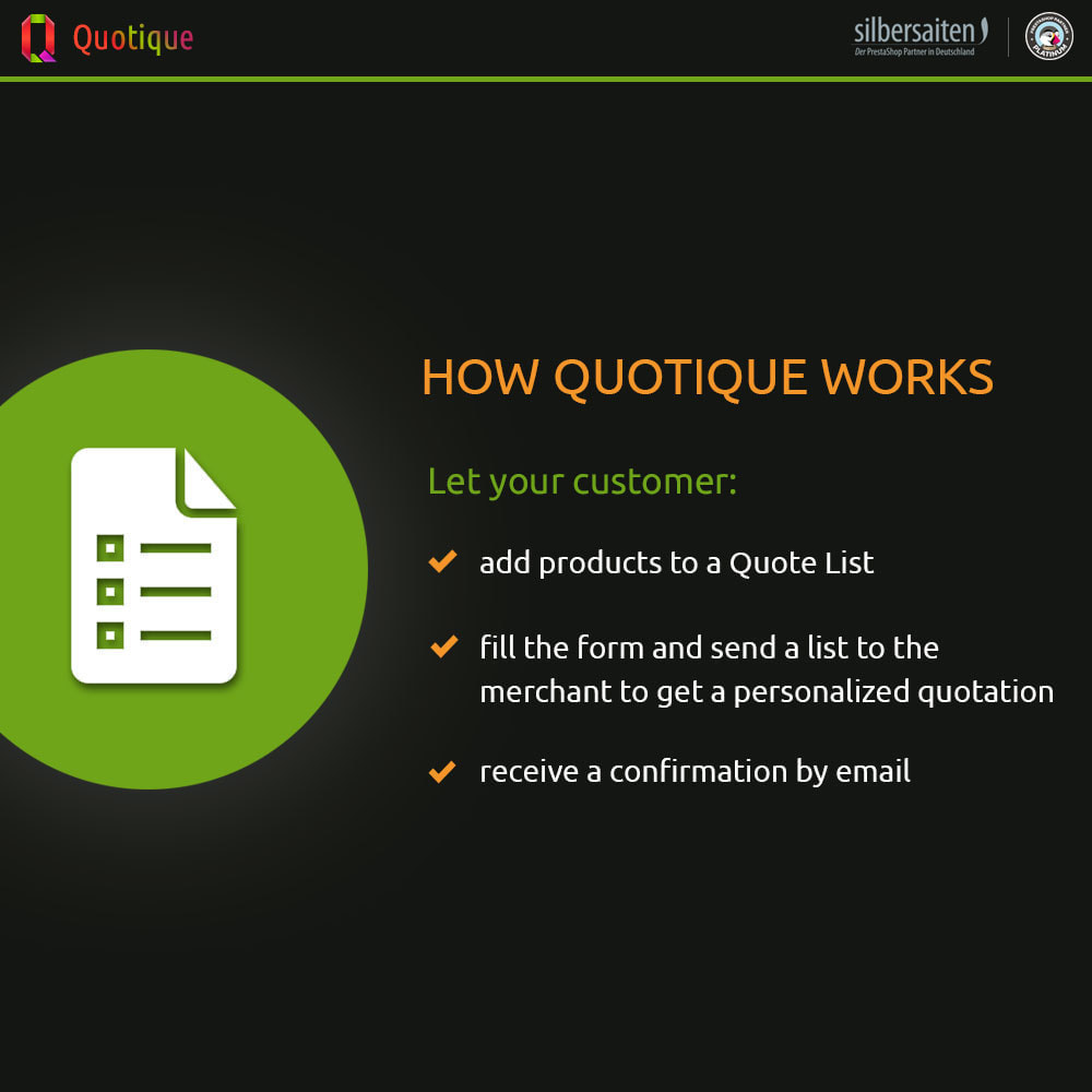 module - Quotes - Quotique - Request for Quotation (Quote) - 1