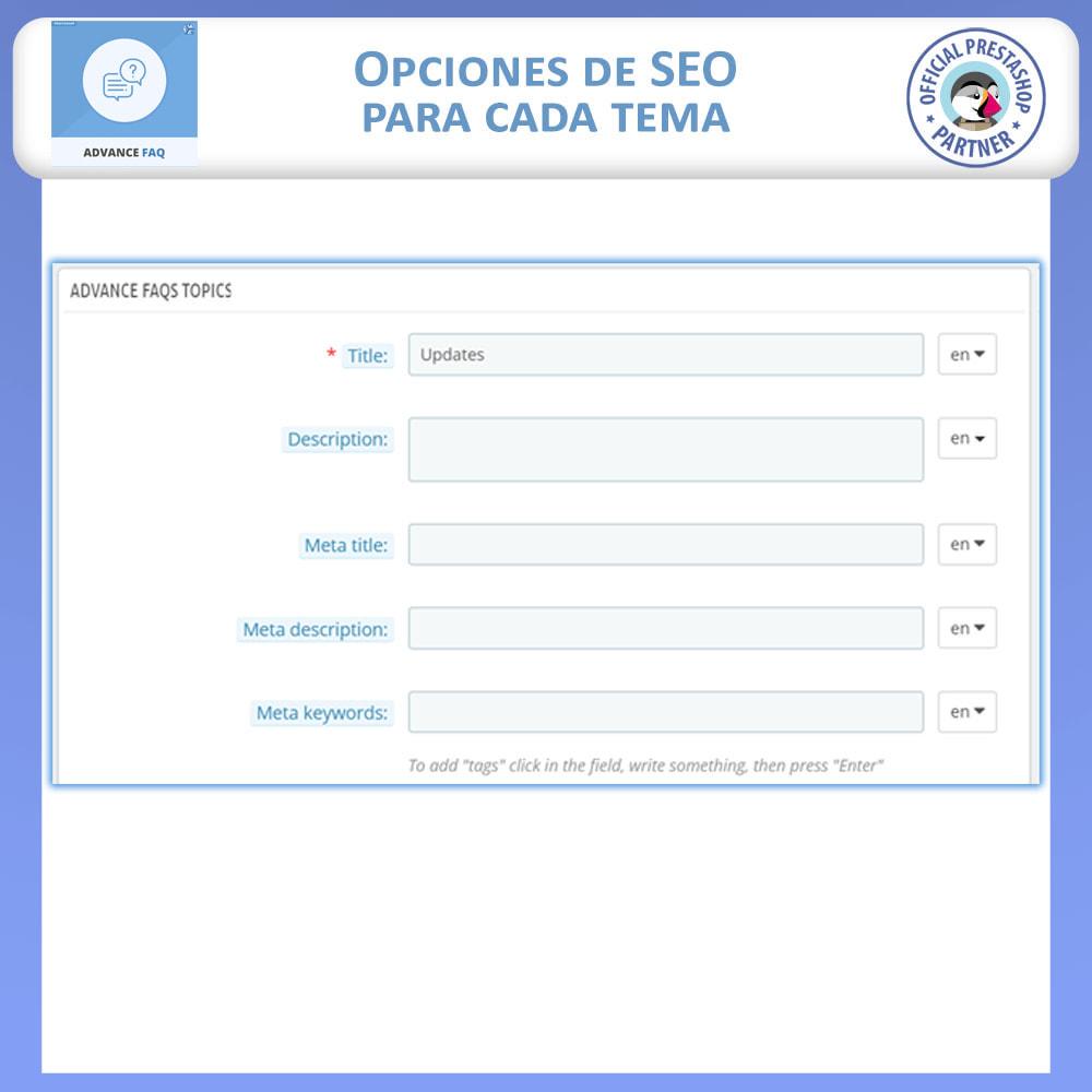 module - Preguntas Frecuentes - Preguntas Frecuentes Avanzadas - 11