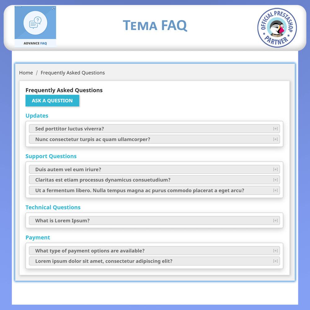 module - FAQ (Domande Frequenti) - Avanzate FAQ – Crea una Pagina Dedicata per FAQ - 5