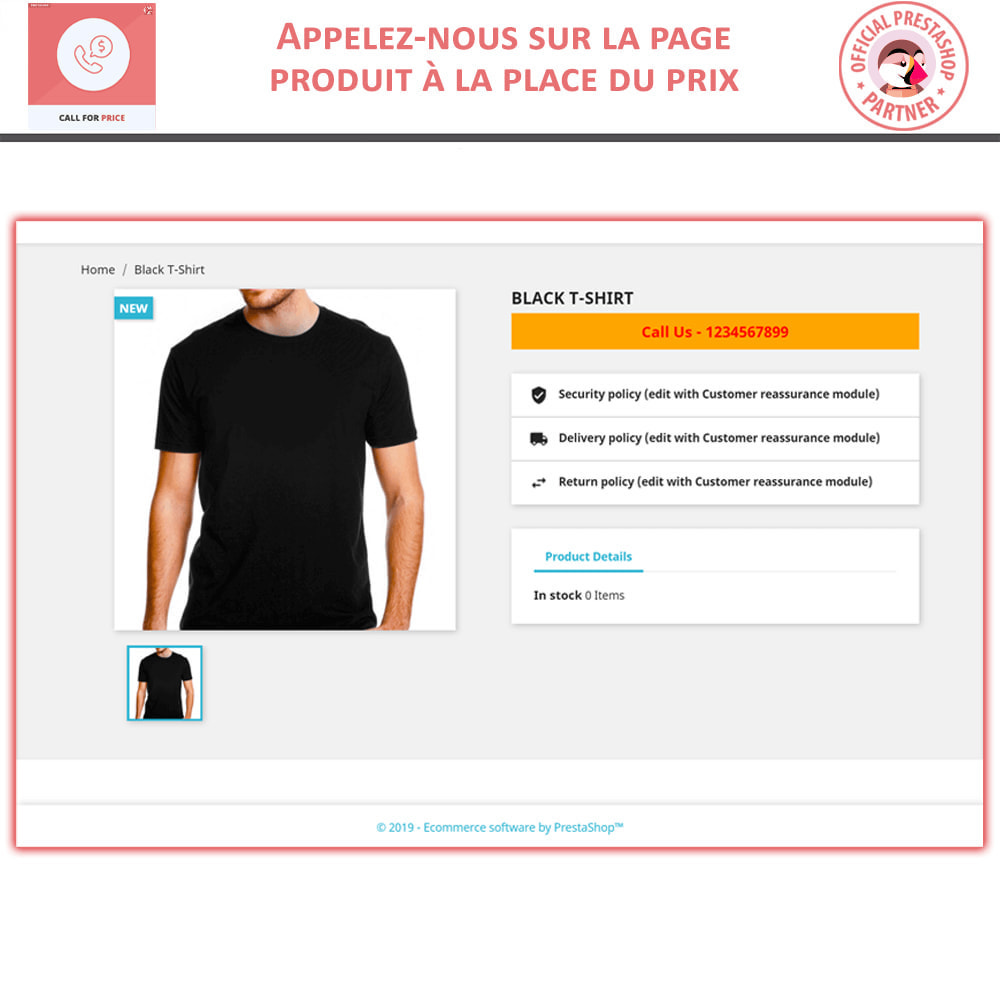 module - Gestion des Prix - Call For Price - Hide Price & Add To Cart - 3