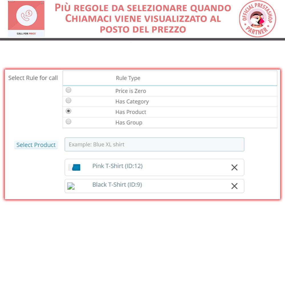 module - Gestione Prezzi - Call For Price - Hide Price & Add To Cart - 5