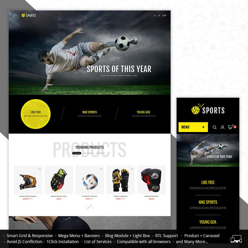 theme - Спорт и Путешествия - Sports Store - 1