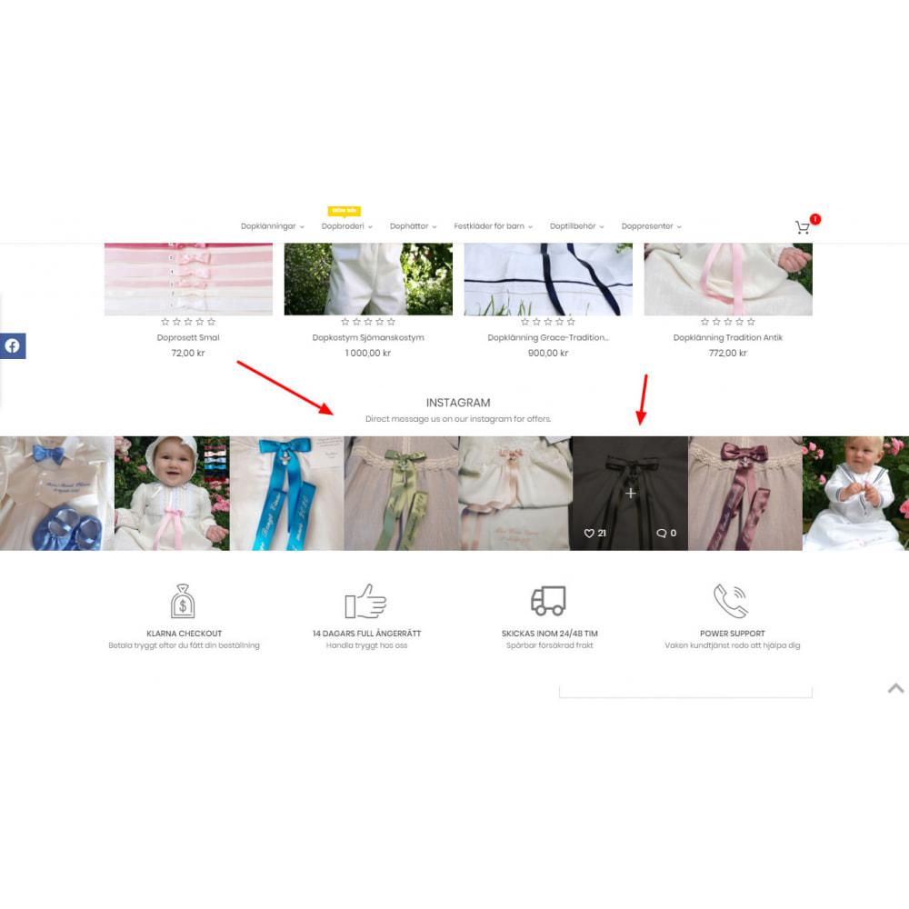 module - Produkty w serwisach społecznościowych - Social Feed Slider - Instagram New API - 2