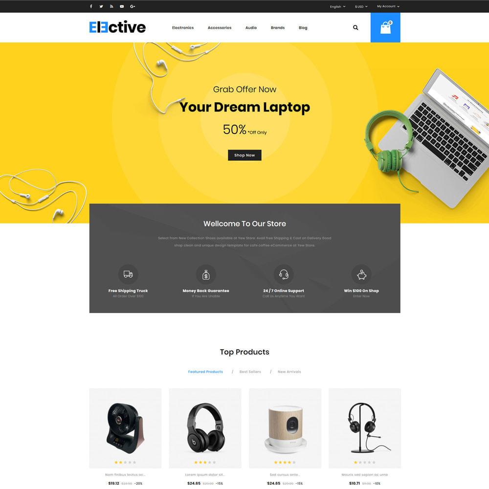 theme - Electrónica e High Tech - The Elective - Electronic Store - 2