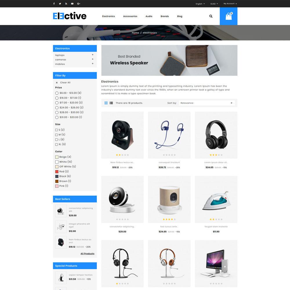 theme - Electrónica e High Tech - The Elective - Electronic Store - 3