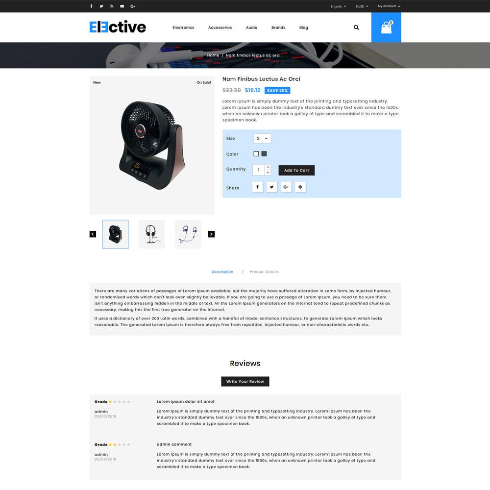 theme - Electrónica e High Tech - The Elective - Electronic Store - 4