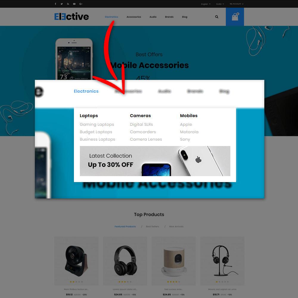 theme - Electrónica e High Tech - The Elective - Electronic Store - 7