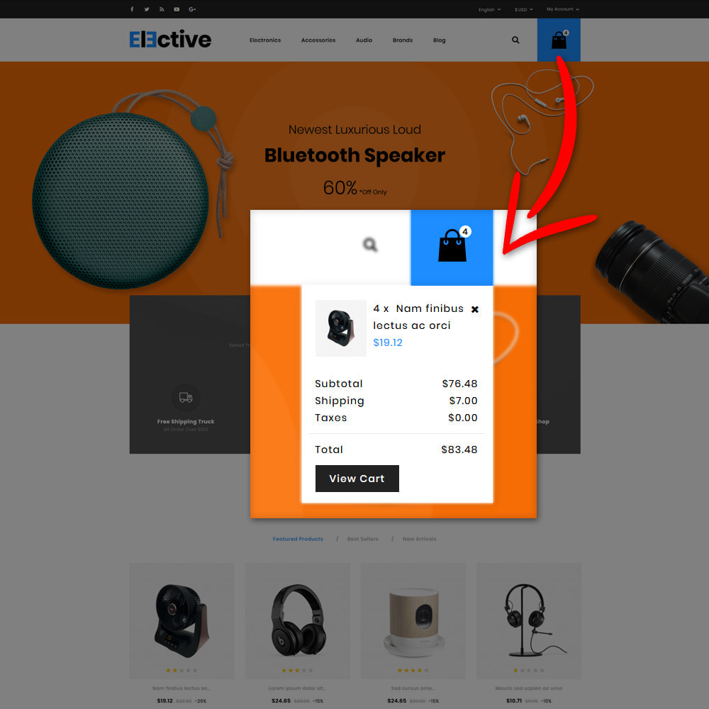 theme - Electrónica e High Tech - The Elective - Electronic Store - 8