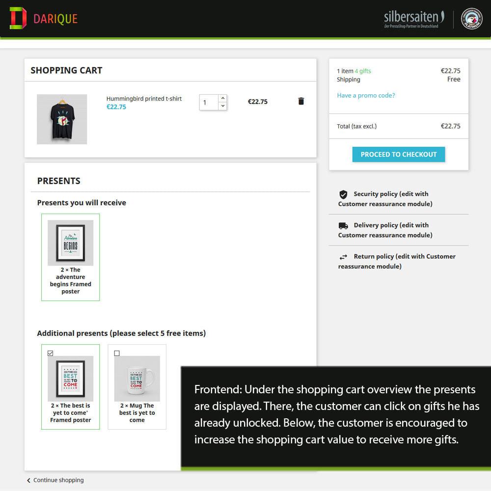 module - Promociones y Regalos - Darique - Productos de Regalo en Pedido - 18