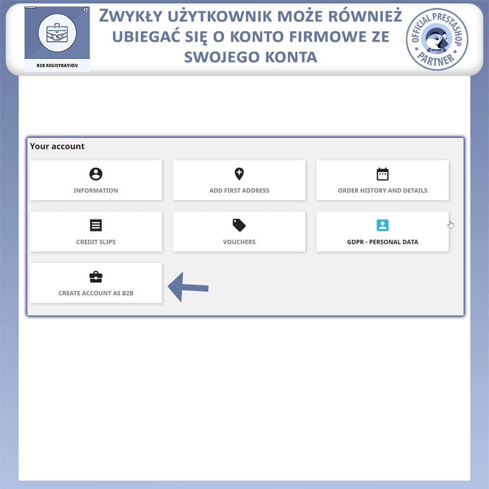 module - Procedury składania zamówień - Rejestracja B2B - 7