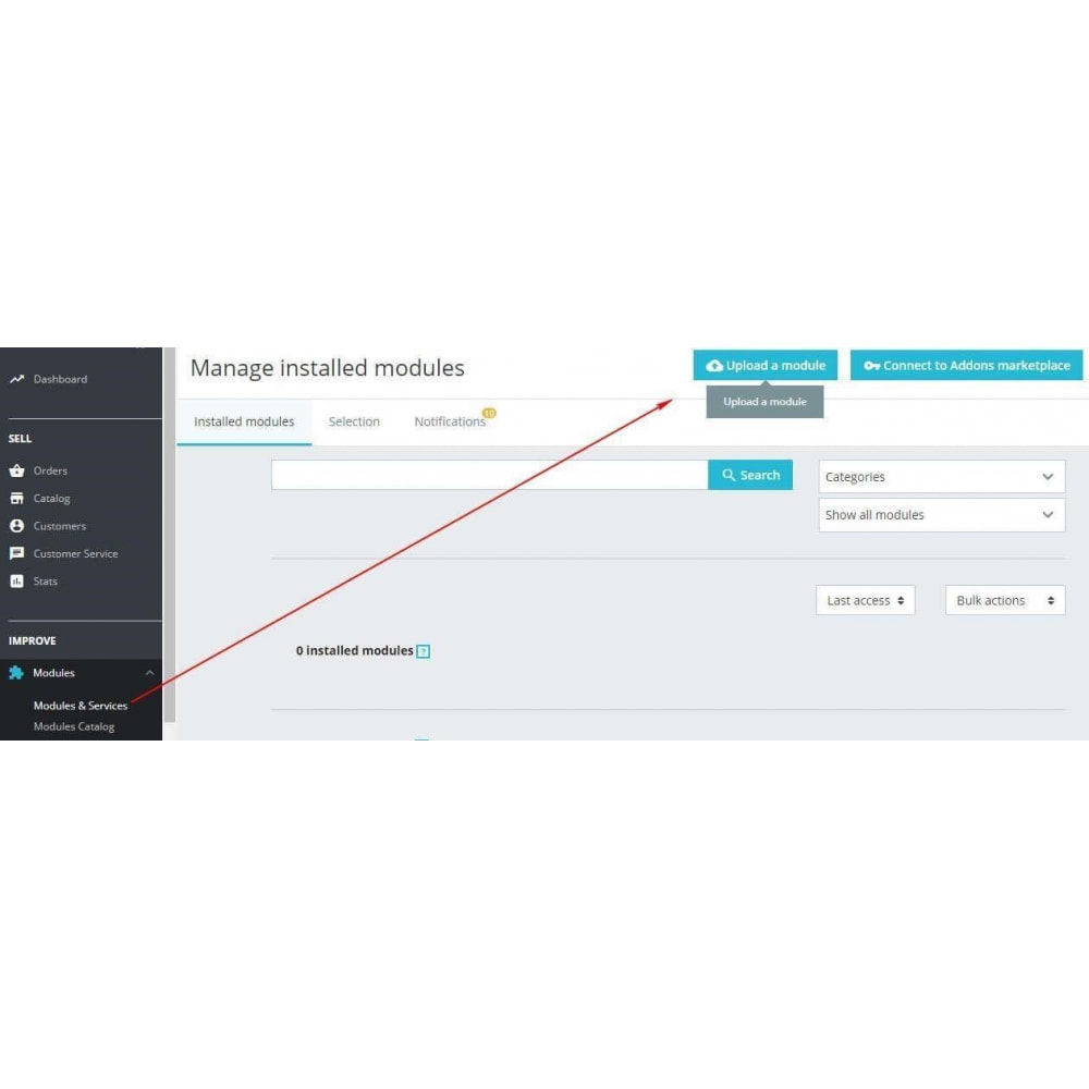 module - Remarketing & Paniers Abandonnés - Google Tag Manager - 1