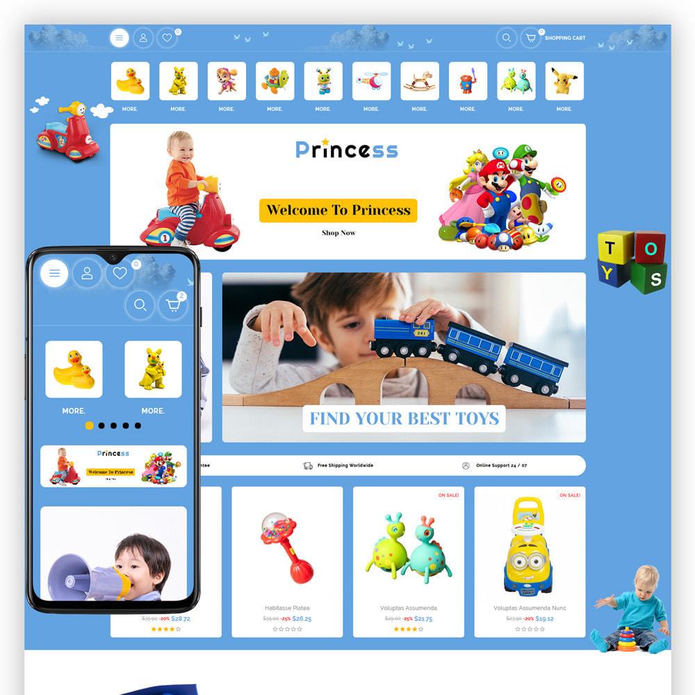 theme - Enfants & Jouets - Princess - Kids Store - 1