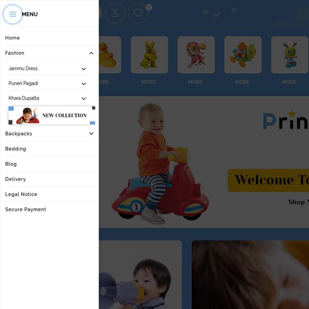 theme - Enfants & Jouets - Princess - Kids Store - 2