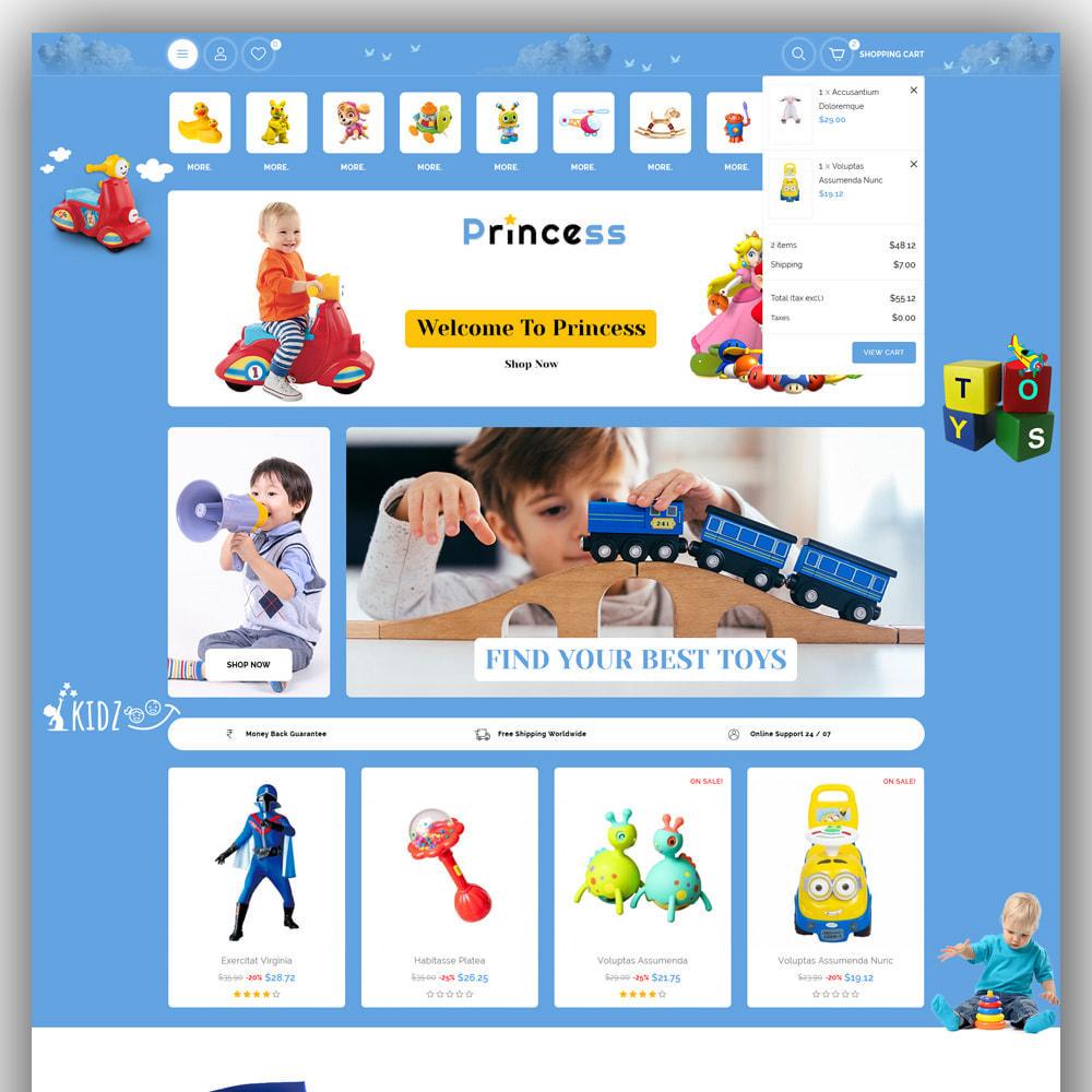 theme - Enfants & Jouets - Princess - Kids Store - 3