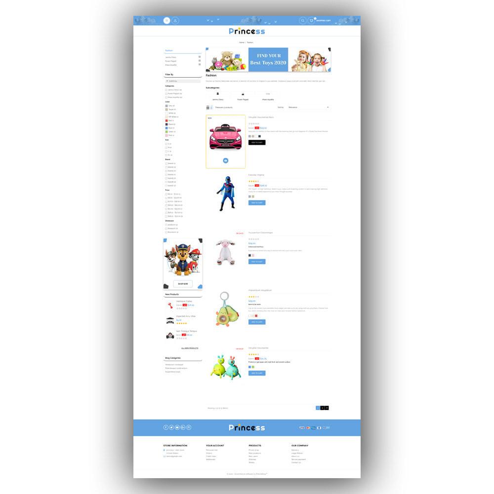 theme - Enfants & Jouets - Princess - Kids Store - 4