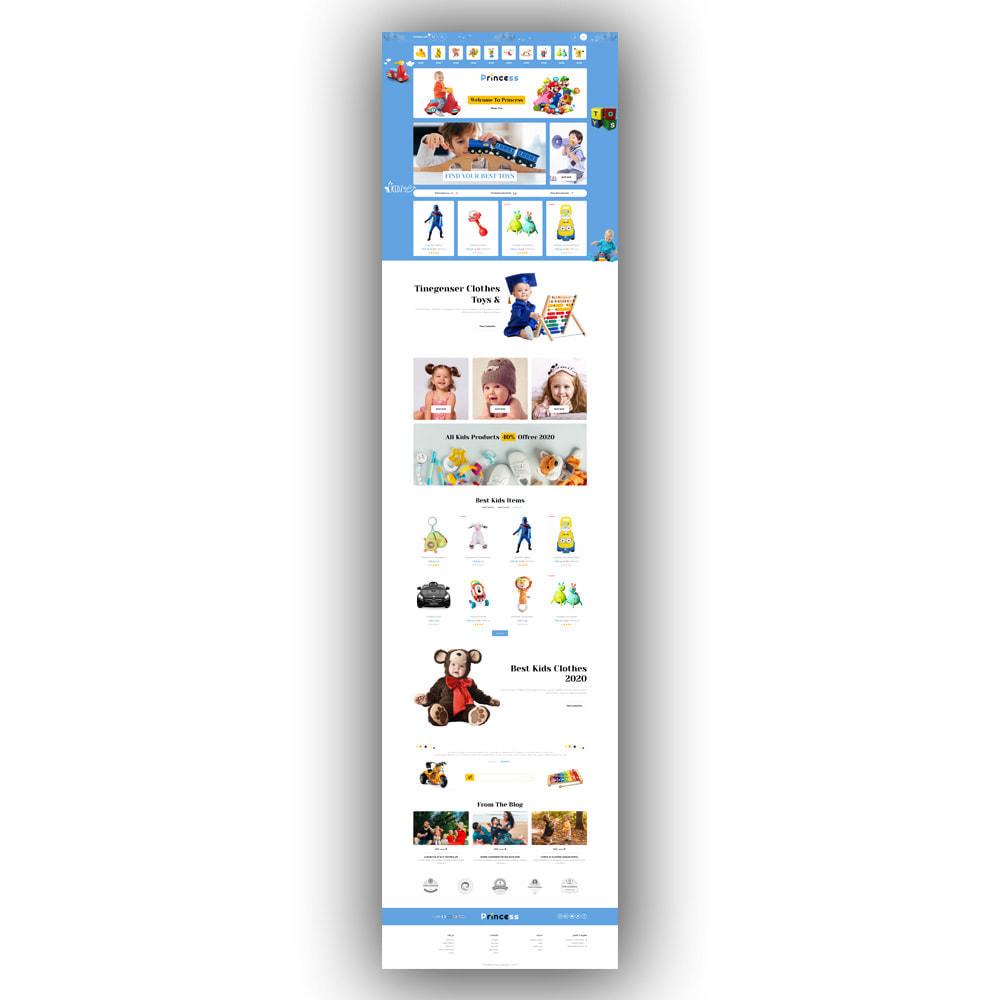 theme - Enfants & Jouets - Princess - Kids Store - 5