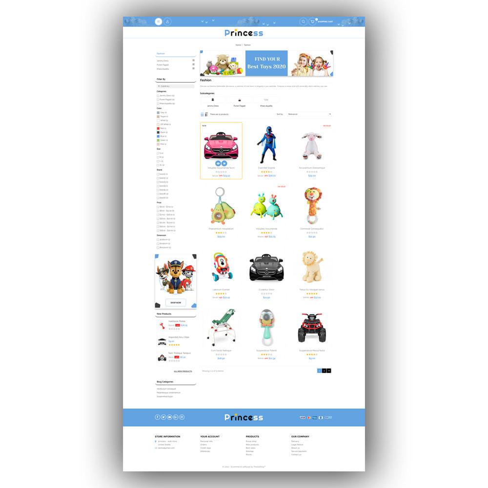 theme - Enfants & Jouets - Princess - Kids Store - 8