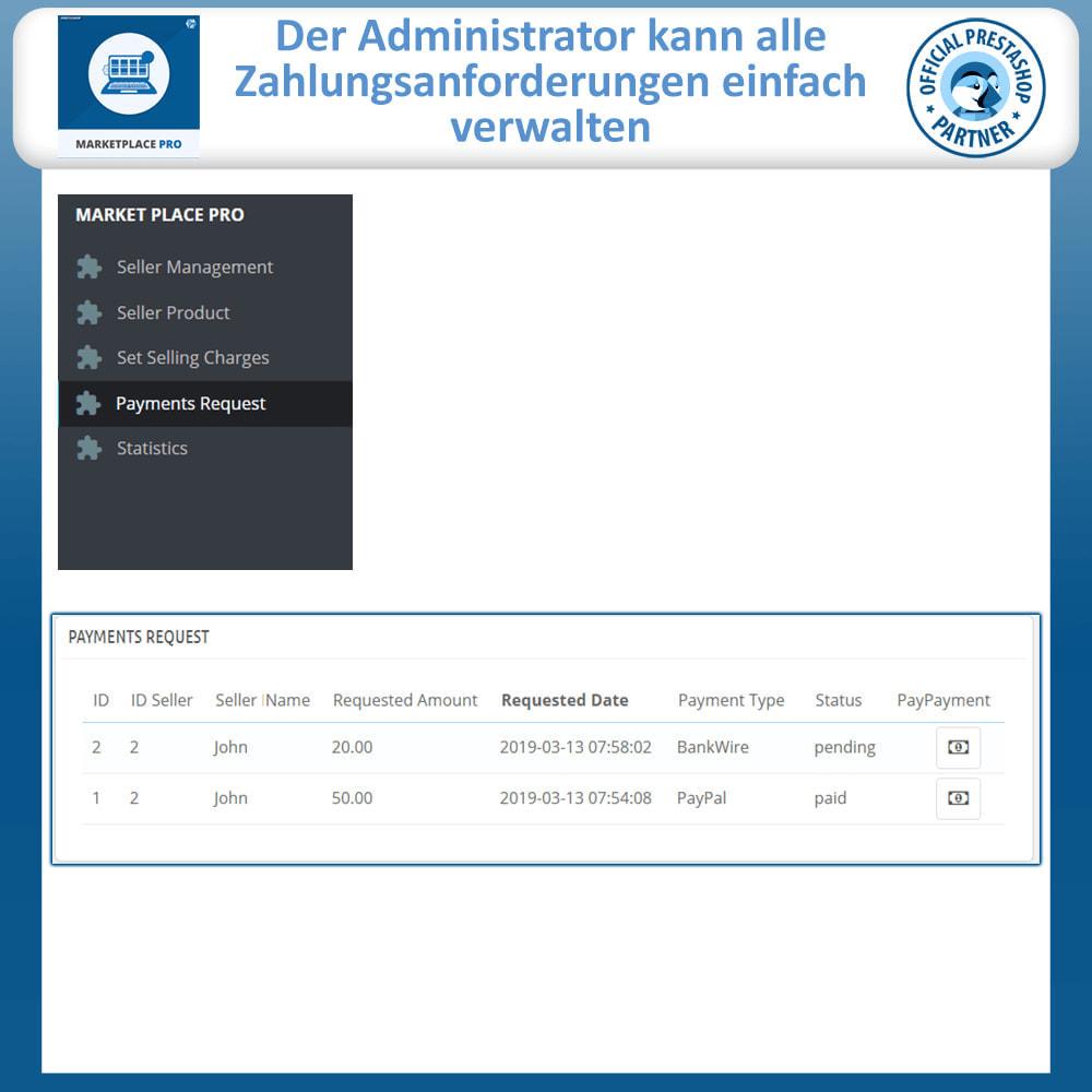 module - Marketplace Erstellen - Multi Vendor Marketplace  - Marketplace Pro - 25