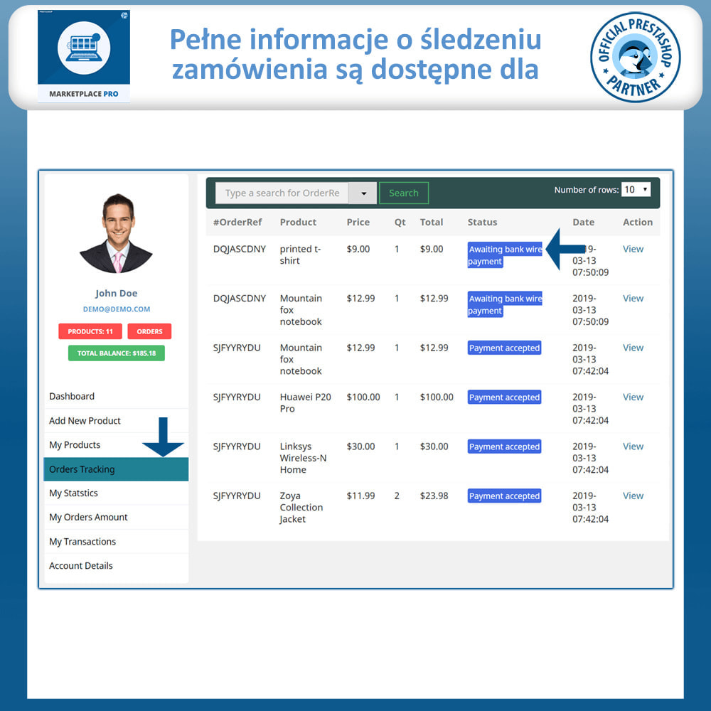 module - Stworzenia platformy handlowej - Multi Vendor Marketplace  - Marketplace Pro - 17