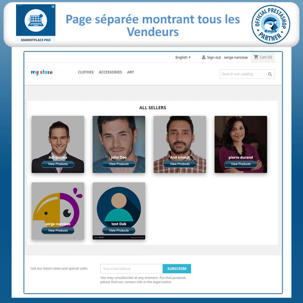 module - Création de Marketplace - Multi Vendor Marketplace  - Marketplace Pro - 3