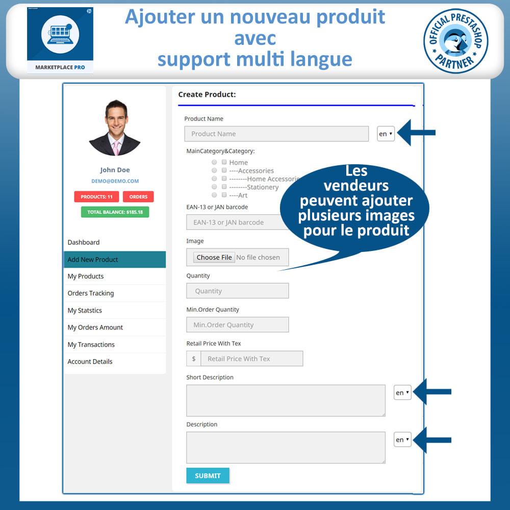 module - Création de Marketplace - Multi Vendor Marketplace  - Marketplace Pro - 13