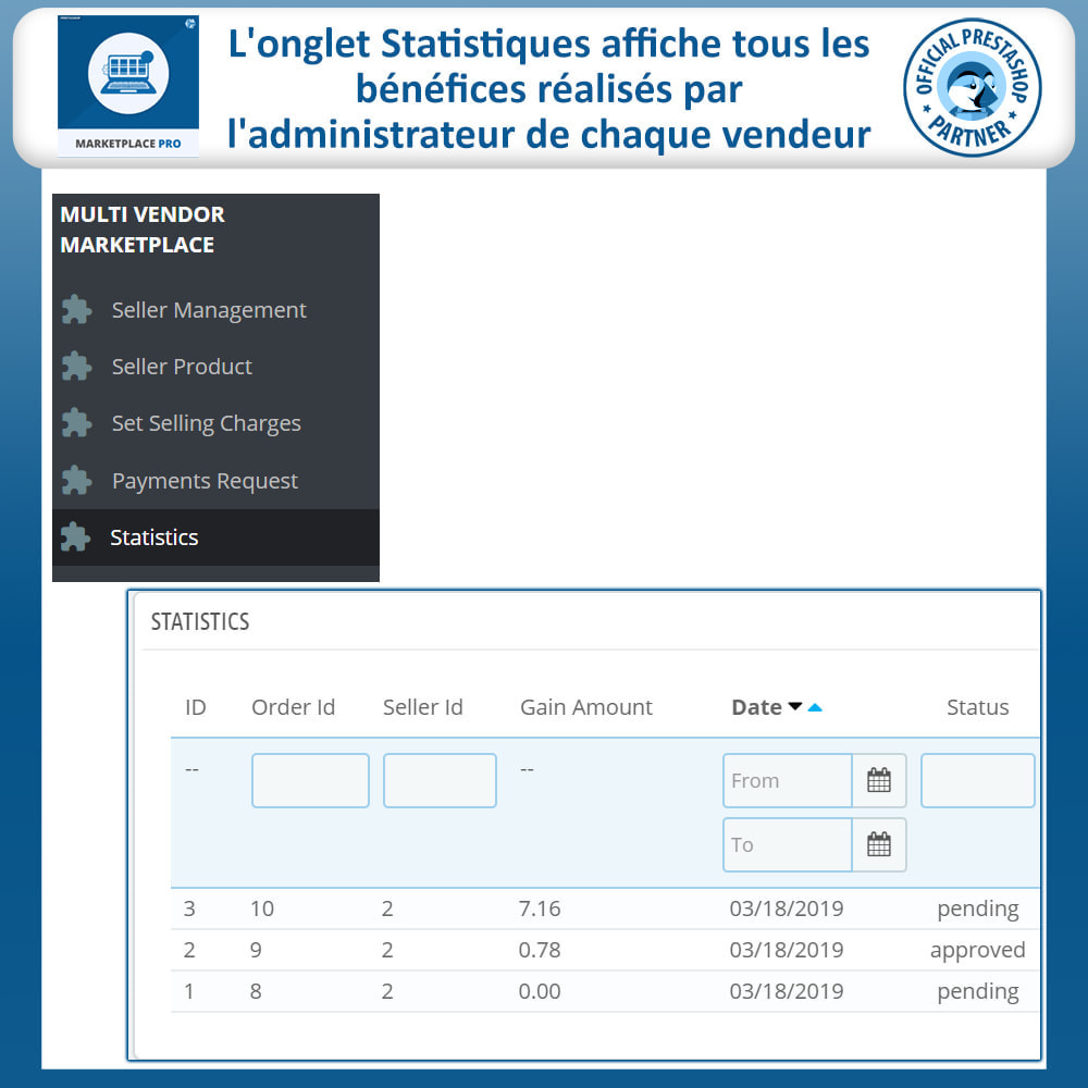 module - Création de Marketplace - Multi Vendor Marketplace  - Marketplace Pro - 27