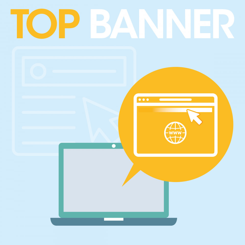 module - Блоки, вкладки и Баннеры - Top banner scrolling - 1