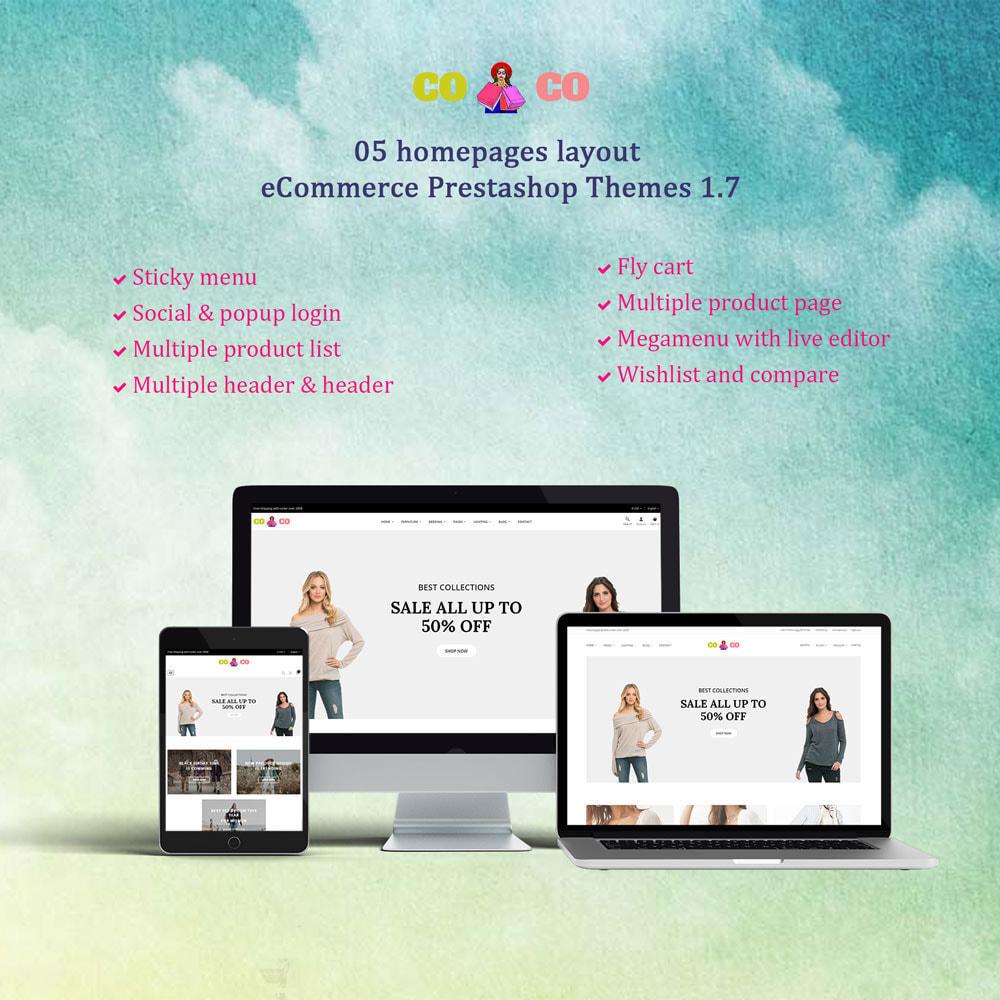 theme - Moda y Calzado - Coco - Fashion and Shose online store. - 1