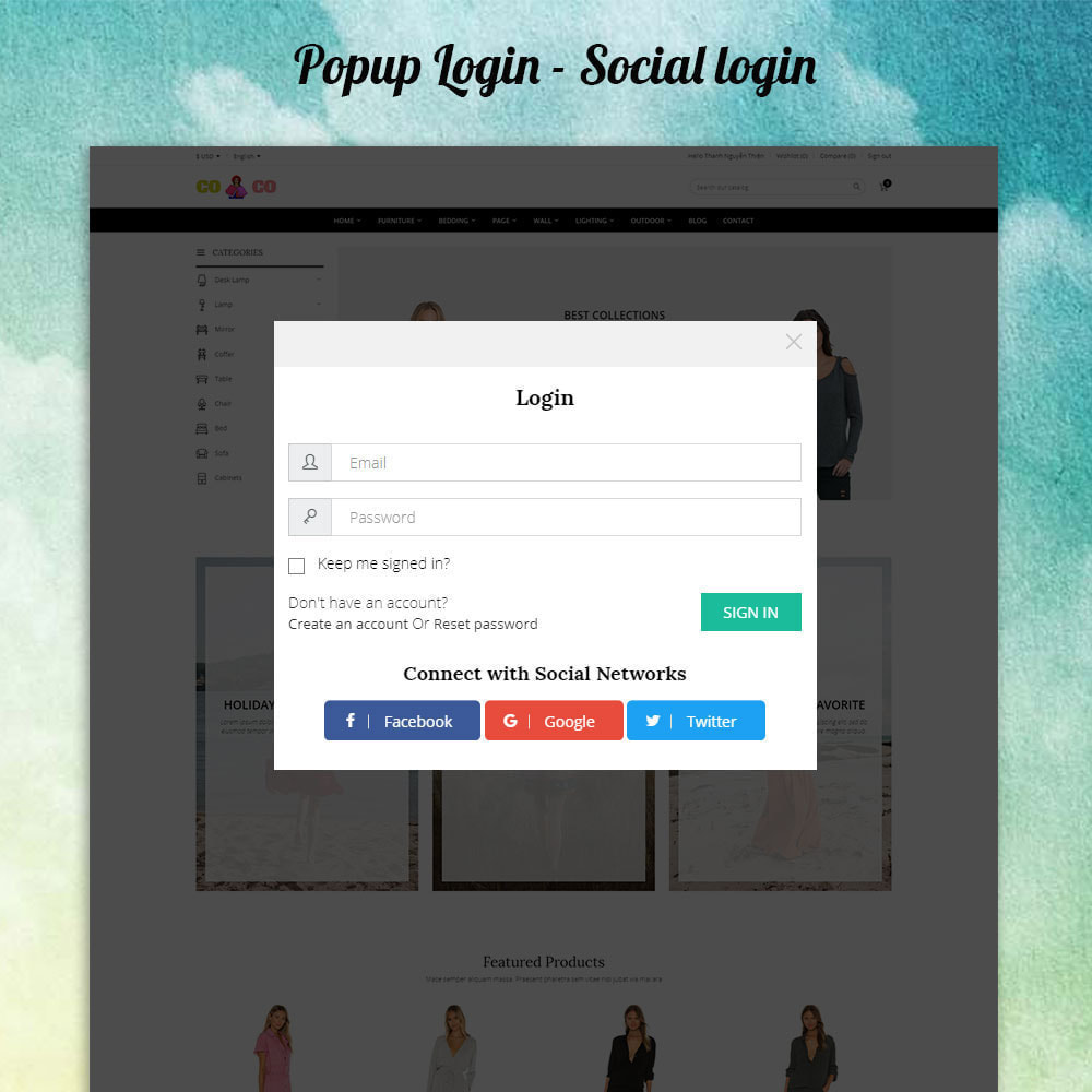 theme - Moda y Calzado - Coco - Fashion and Shose online store. - 4