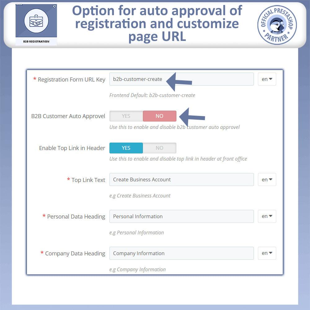 module - Registration & Ordering Process - B2B Registration | Advance B2B Registration - 9