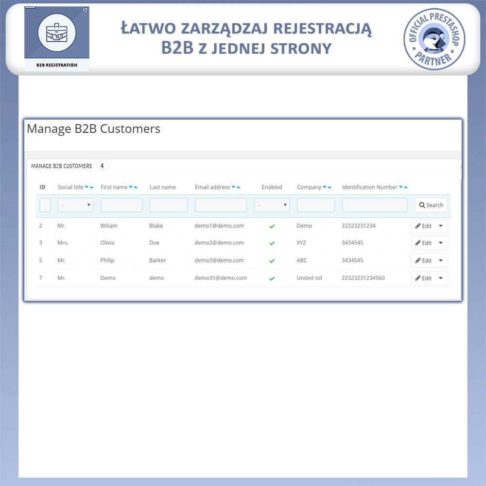 module - Procedury składania zamówień - Rejestracja B2B - 8