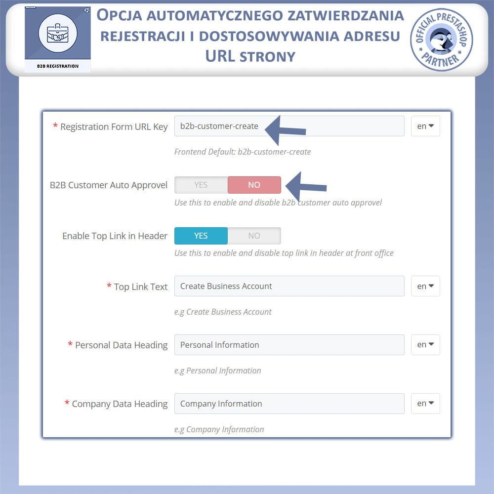 module - Procedury składania zamówień - Rejestracja B2B - 9
