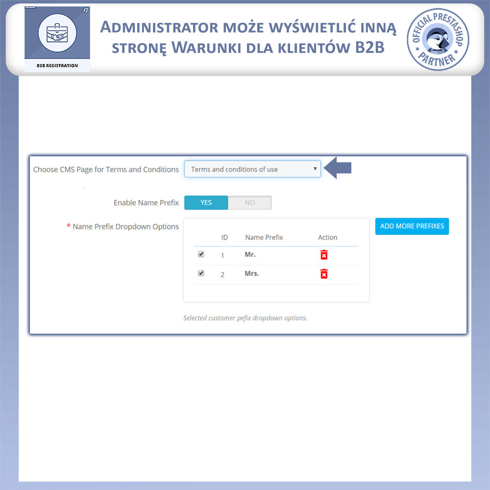 module - Procedury składania zamówień - Rejestracja B2B - 10