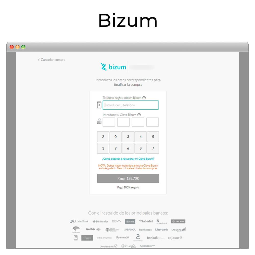 module - Pagamento con Carta di Credito o Wallet - Card payment Virtual POS CECA gateway,refunds (& Bizum) - 6
