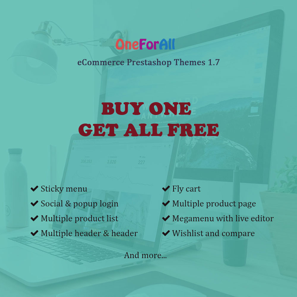 theme - Home & Garden - One for all - Buy one get all - 1